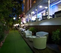 Hotel Lido Cattolica giardino