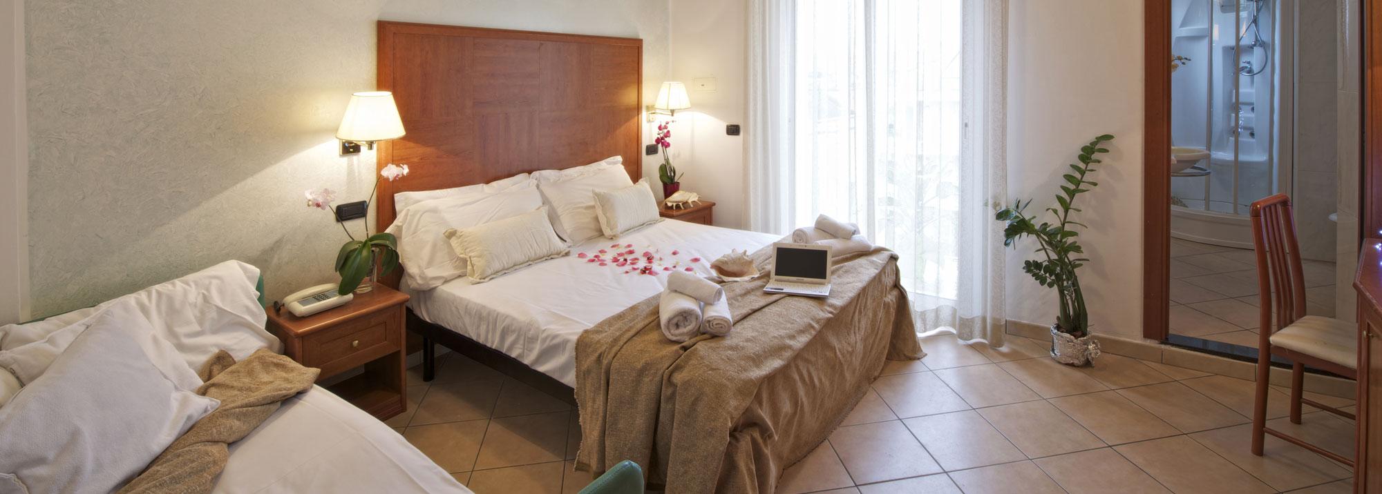 Hotel Lido Cattolica camere grandi