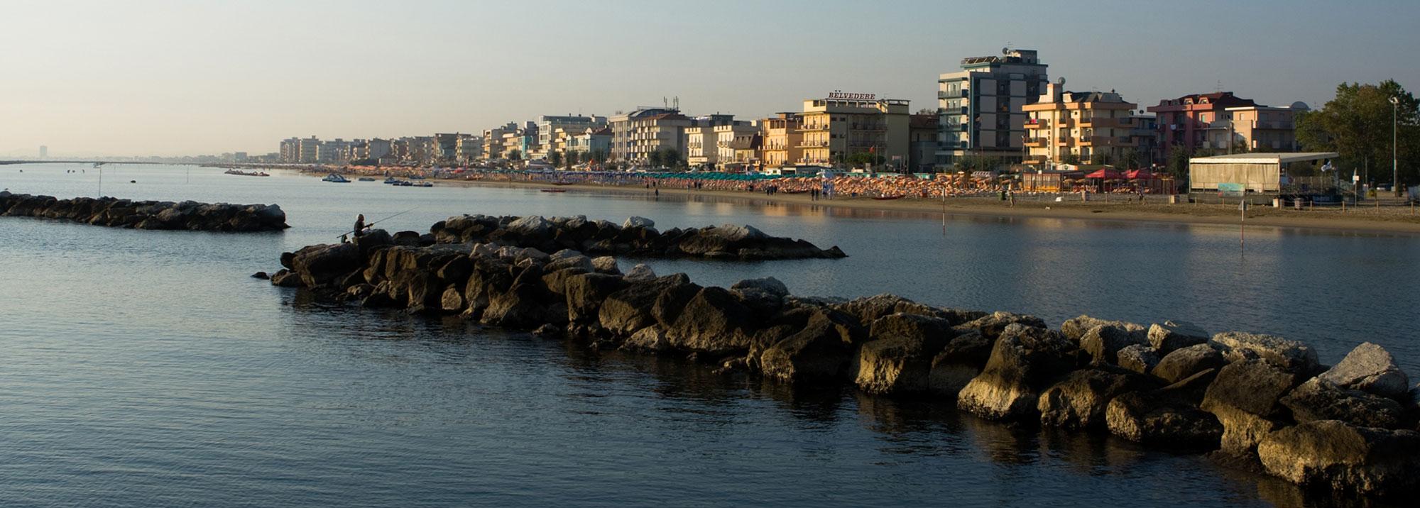 Hotel Lido Cattolica Foto spiaggia mare
