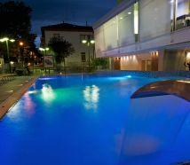 Hotel Lido Cattolica piscina di notte