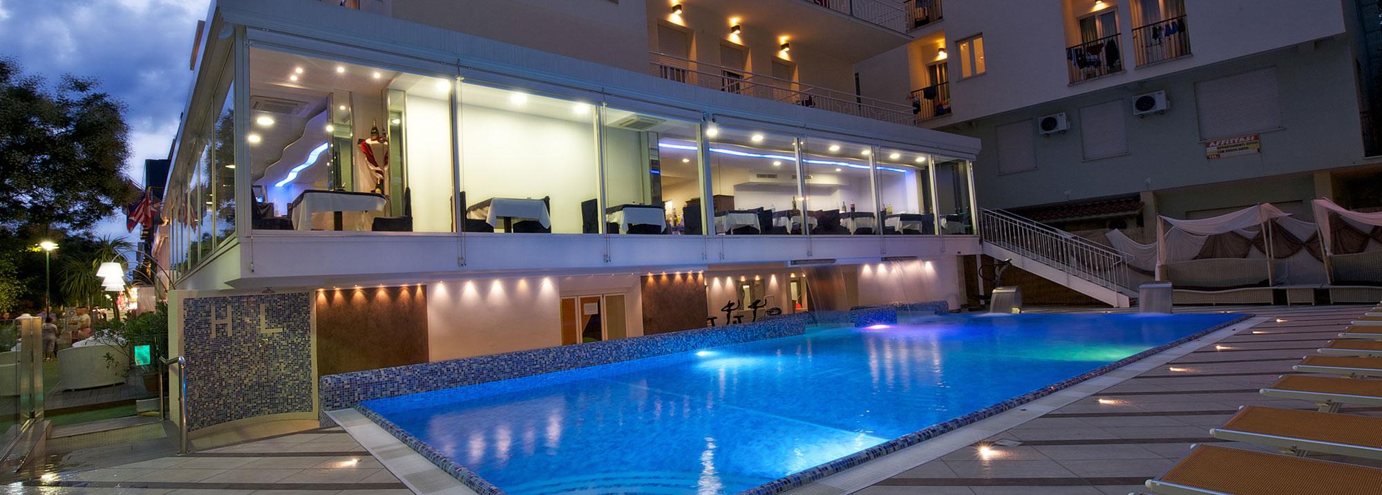 Hotel con piscina Cattolica 3 stelle